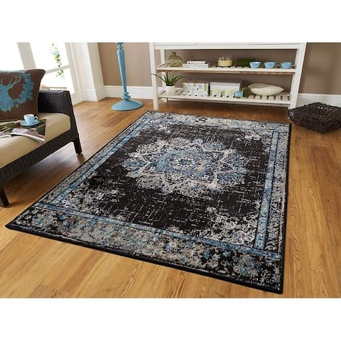 Copper Grove Perushtitsa Distressed Traditional Area Rug