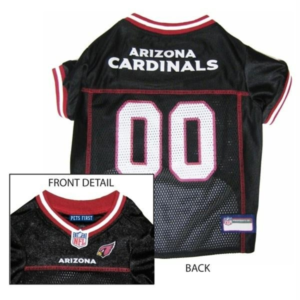 7ed74691c388 Shop Arizona Cardinals Dog Jersey - Small - Free Shipping On Orders Over   45 - Overstock.com - 20842807