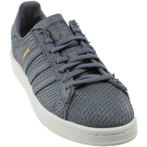 adidas Campus Lace Up Womens Sneakers Shoes Casual - Grey