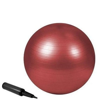 Trimax Sports Zenzation Exercise Ball, 55Cm, Red