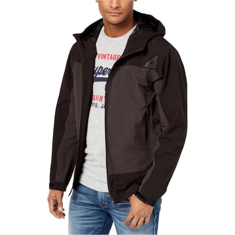 Superdry Mens Zip-Front Hooded Jacket