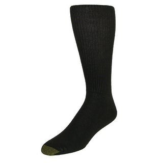 Gold Toe Men's Extended Size Fluffies Dress Socks (3 Pair Pack) (3 options available)