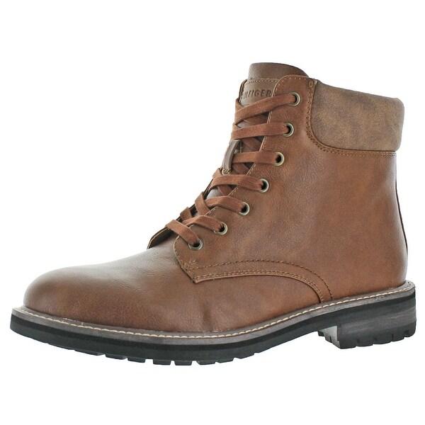 Tommy Hilfiger Horus Men's Casual Plain Toe Boots