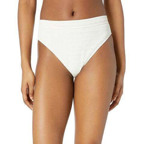 Billabong Women's Sun Rise Pant High-Waisted Bikini, Seashell, Size Medium