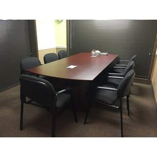 Shop Mayline Medina W X D Conference Table Free Shipping - 8 ft conference table