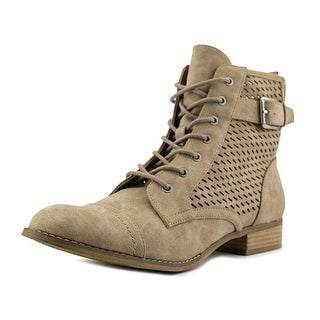 G By Guess Atkins   Round Toe Synthetic  Boot