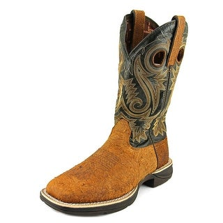 "Durango Rebel 12"" Western Men W Square Toe Leather Brown Western Boot"
