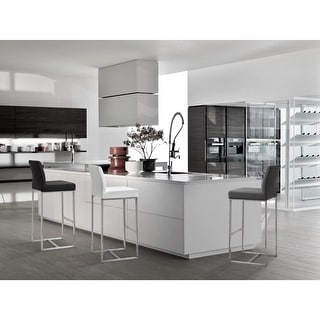 Link to TOV Denmark Grey Barstool (Set of 2) Similar Items in Dining Room & Bar Furniture