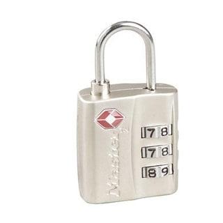"Master Lock 4680DNLK Resettable Combination Luggage Lock, 1-3/16"""