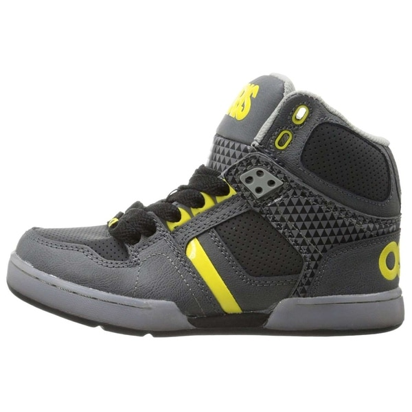 a734edc5cfd Osiris Boys NYC 83 Leather Hight Top Lace Up Skateboarding Shoes - 2 m us  big