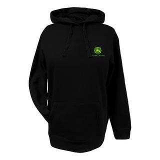 John Deere Western Sweatshirt Womens Farm And Field Black 23025381