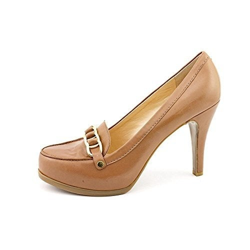 Marc Fisher Womens Isla Leather Closed Toe Mary Jane Pumps