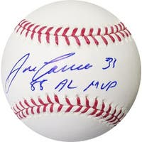 Jose Canseco signed Official Major League Baseball 88 AL MVP Oakland As