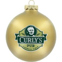 Green Bay Packers Round Ornament - Curly's Pub