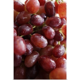 """""""Close up of bunch of grapes"""" Poster Print"""