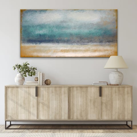 'Tempest' Wrapped Canvas Wall Art by Norman Wyatt Jr.