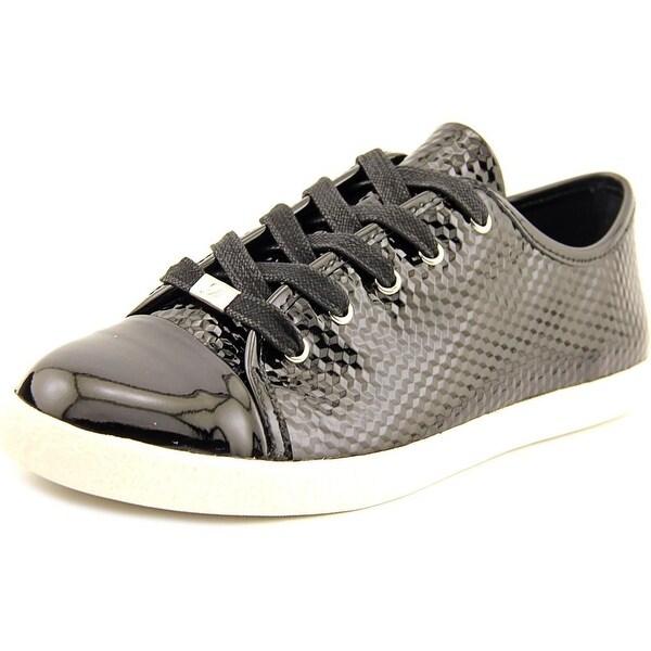 Delman Magie Women Patent Leather Fashion Sneakers