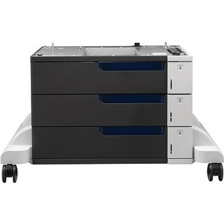 HP C1N63A Color LaserJet 3x500-Sheet Paper Feeder and Stand