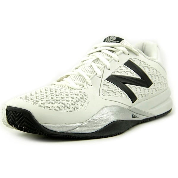 New Balance MC996 Men 2E Round Toe Synthetic White Tennis Shoe