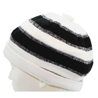 Link to Urban Pipeline knit Beanie Fall Winter Spring Hat Black Off White New - Ivory Black - One Size Similar Items in Athletic Clothing