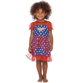 DC Comics Wonder Woman Girls USA Fantasy Nightgown