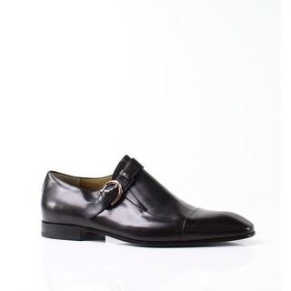 Cesare Paciotti NEW Black Men's Shoes Size 12M Leather Oxfords