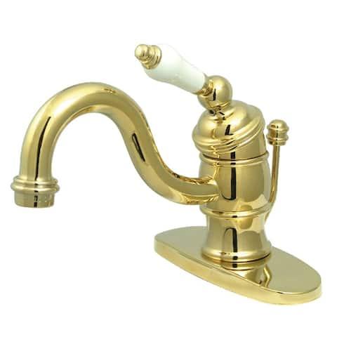 Victorian 4 in. Centerset 1-Handle Bathroom Faucet
