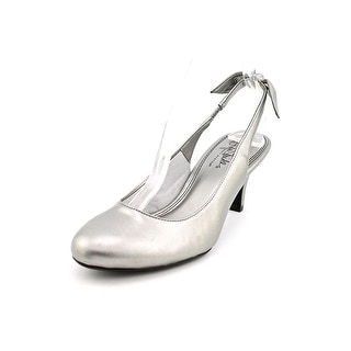 Life Stride Parisian W Round Toe Synthetic Slingback Heel