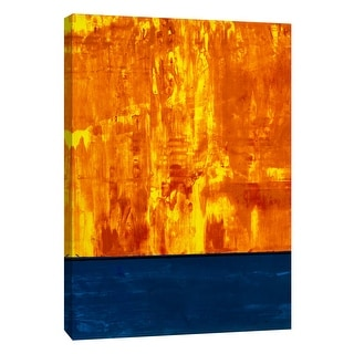 "PTM Images 9-105292  PTM Canvas Collection 10"" x 8"" - ""Squeegeescape 9"" Giclee Abstract Art Print on Canvas"