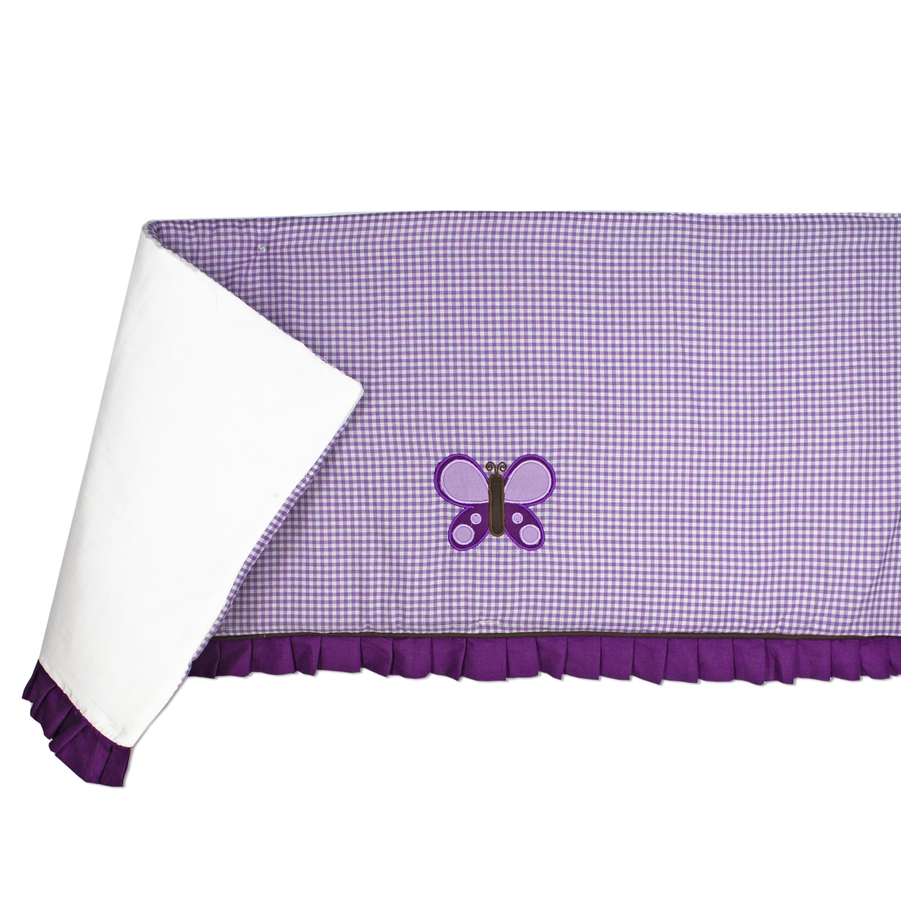 Image of: Shop Pam Grace Creations Lavender Butterfly 10 Piece Crib Bedding Set On Sale Overstock 31734839