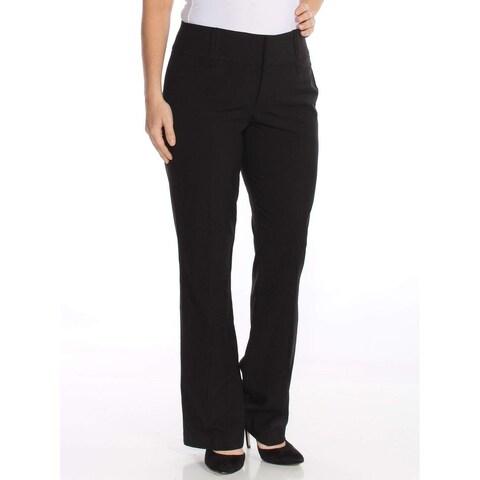 XOXO Black Size 0 Junior Wide Band Bootcut Stretch Dress Pants