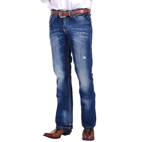 Stetson Western Denim Jeans Mens Rocks Fit
