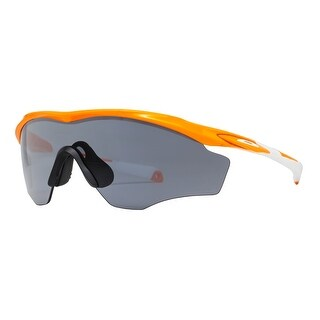 Oakley OO9343-03 M2 Frame XL Atomic Orange Grey Sport Shield Sunglasses - atomic orange - 45mm-0mm-121mm
