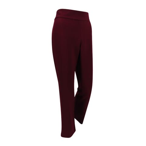Alfani Women's Straight Leg Pants (8, Marooned) - Marooned - 8