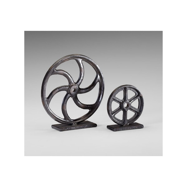 "Cyan Design 4729 6"" Gear Sculpture - Bronze - N/A"