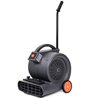 Costway Air Mover Blower Floor Fan 3 Speeds Carpet Dryer Industrial Commercial w/ Wheels