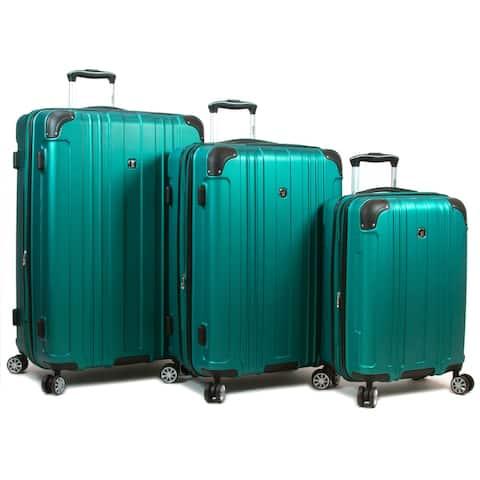 Kingsley Scratch-Resistant 3 Piece Hardside Spinner Luggage Set