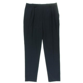 Vince Camuto Womens Woven Pleated Dress Pants - 6