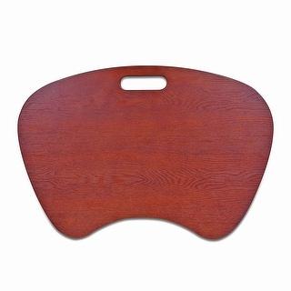 Windsor Laptop Lap Desk Cherry Wood Veneer Finish
