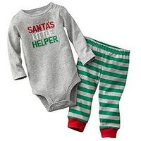 Carter's Baby Boys' Santa's Little Helper 2 Piece Set - Newborn
