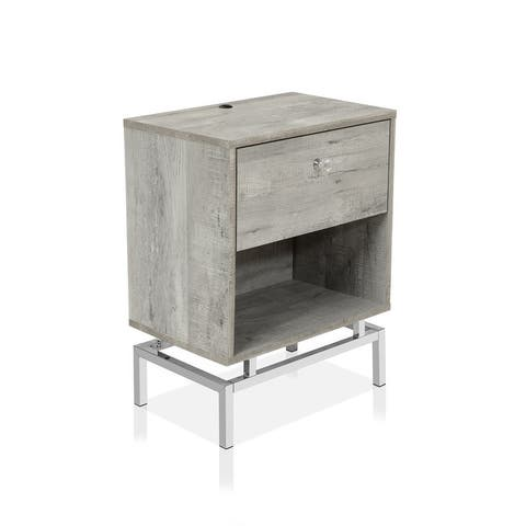 Furniture of America Camelia Contemporary 1-drawer End Table