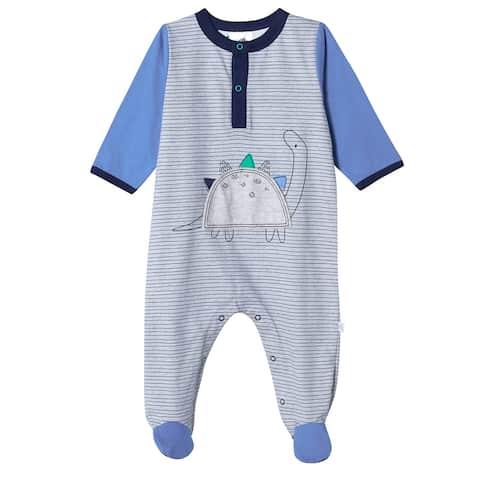 Just Born® Baby Boys' Organic Lil' Dino Sleep 'n Play