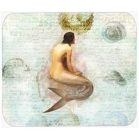 9.5 x 8 in. Mermaids and Mermen Mouse Pad, Hot Pad or Trivet