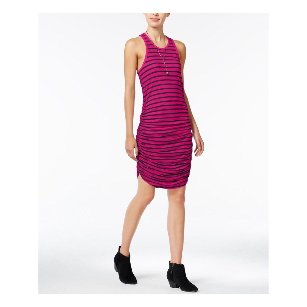 CHELSEA SKY Pink Sleeveless Mini Body Con Dress Size S