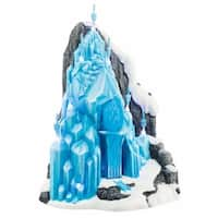 "Department 56 Disney Frozen ""Elsa's Ice Palace"" Porcelain Lighted Building #4048962 - BLue"