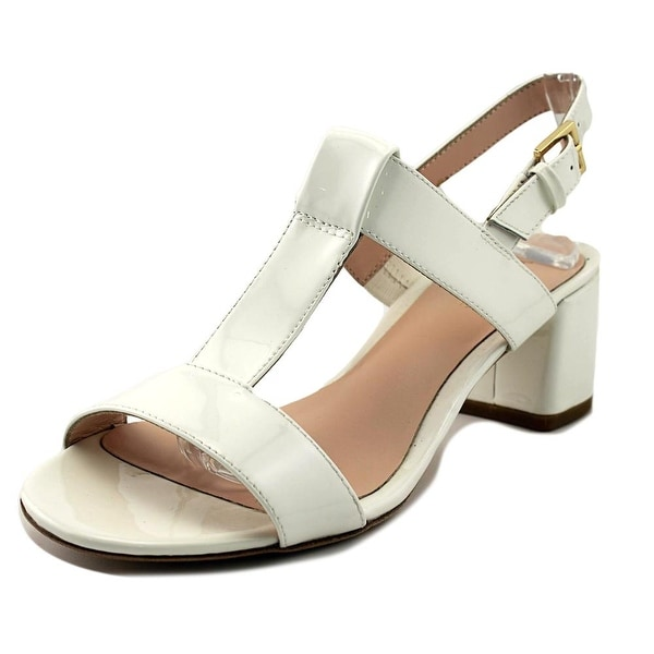 Kate Spade Patricia Women Open Toe Synthetic White Sandals