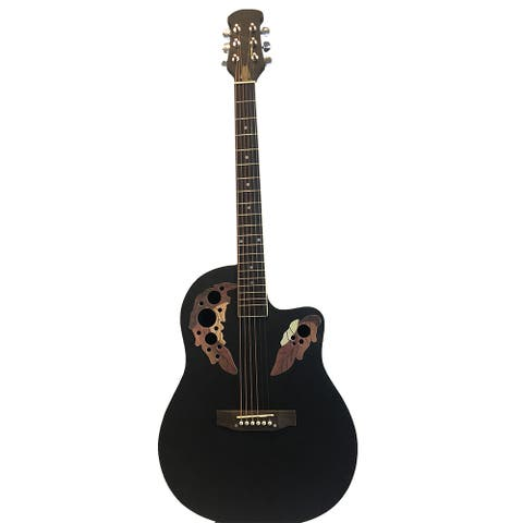 41 inch Spruce Top Round Back Acoustic Guitar Musical Instrucments