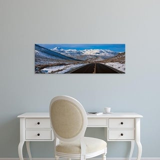 Easy Art Prints Panoramic Images's 'Highway CA USA' Premium Canvas Art