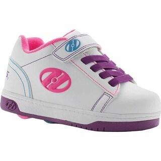 Heelys Children's Dual Up X2 White/Purple/Neon Multi