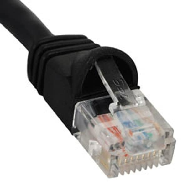 ICC ICC-ICPCSJ10BKM PATCH CORD, CAT 5e, MOLDED BOOT, 10' BK
